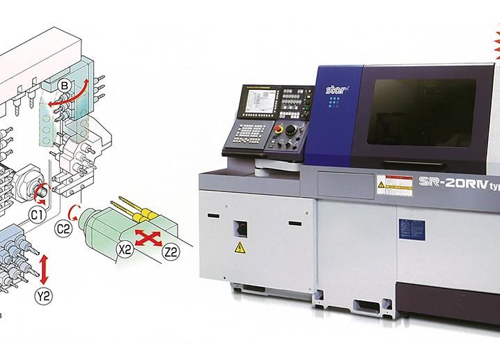 CNC fantina mobile a 9 assi per lavorazioni meccaniche di torneria - Gima Spa