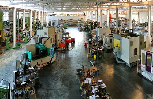 La produzione e i macchinari Gima Spa