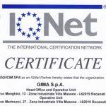Nuovo traguardo per la Gima S.p.A.: ottenuto il rinnovo della certificazione ISO 9001 ed.2015